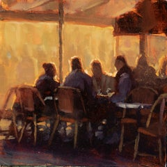 """Story of Paris Vol 2, no 9"", Oil Painting"
