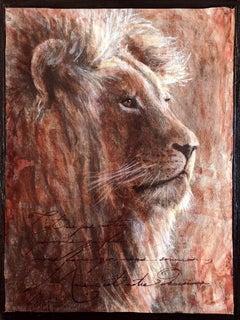 Sepia Cats, Lion 1