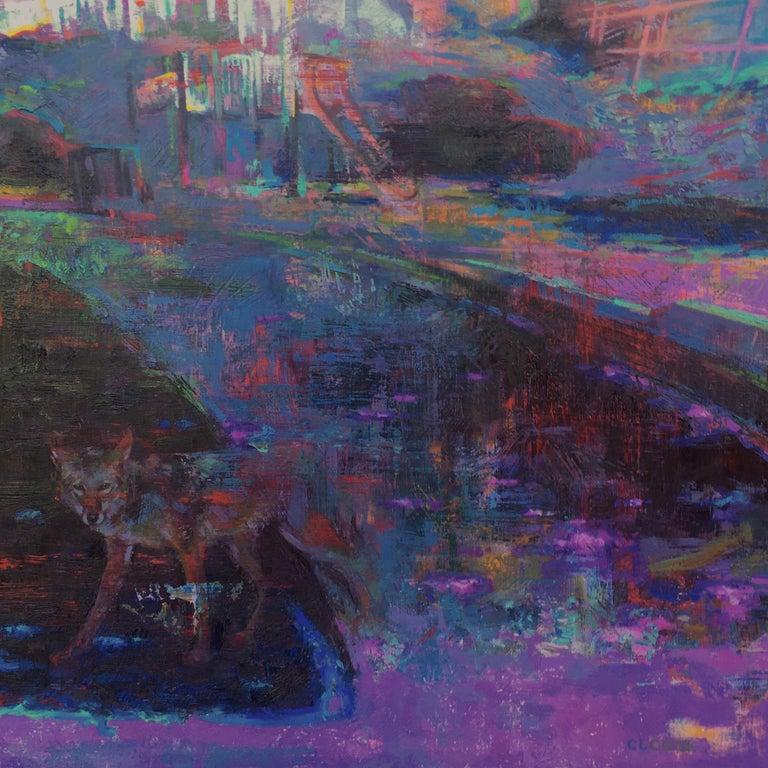 Christopher Cook Landscape Painting - Trespassing