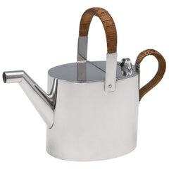 Christopher Dresser Design Sterling Silver 'Hot Water Can' by Heath & Middleton