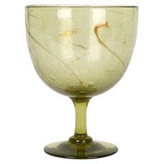 Christopher Dresser for James Coupar Clutha Glass Footed Goblet Shaped Vase