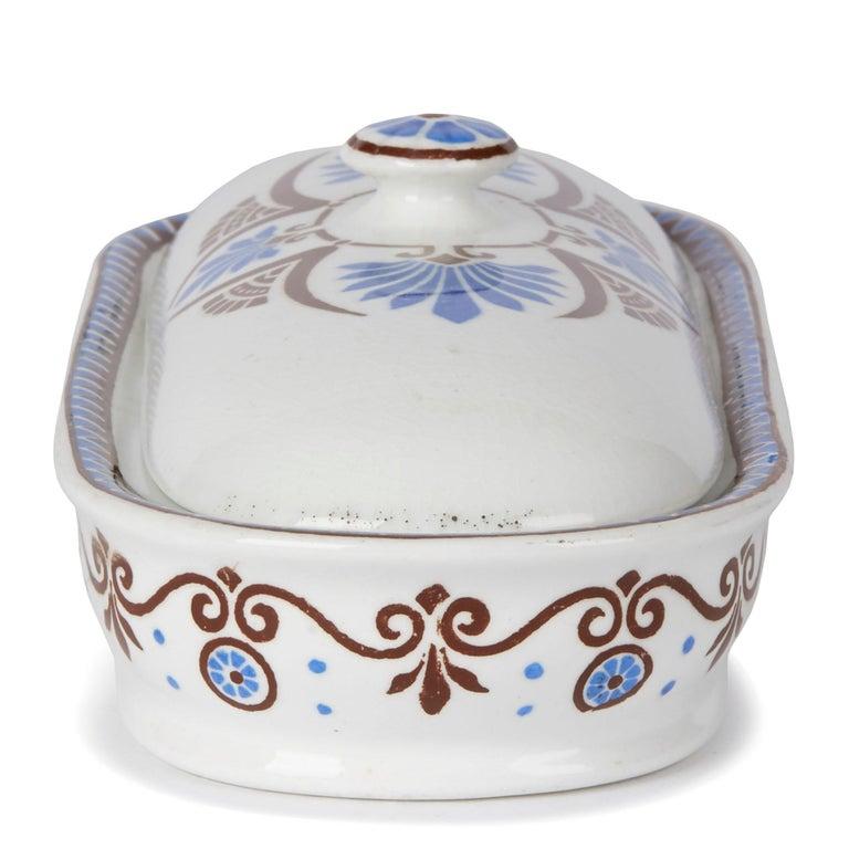 Christopher Dresser for Minton Pottery Lidded Bathroom Box, 1881 For Sale 2