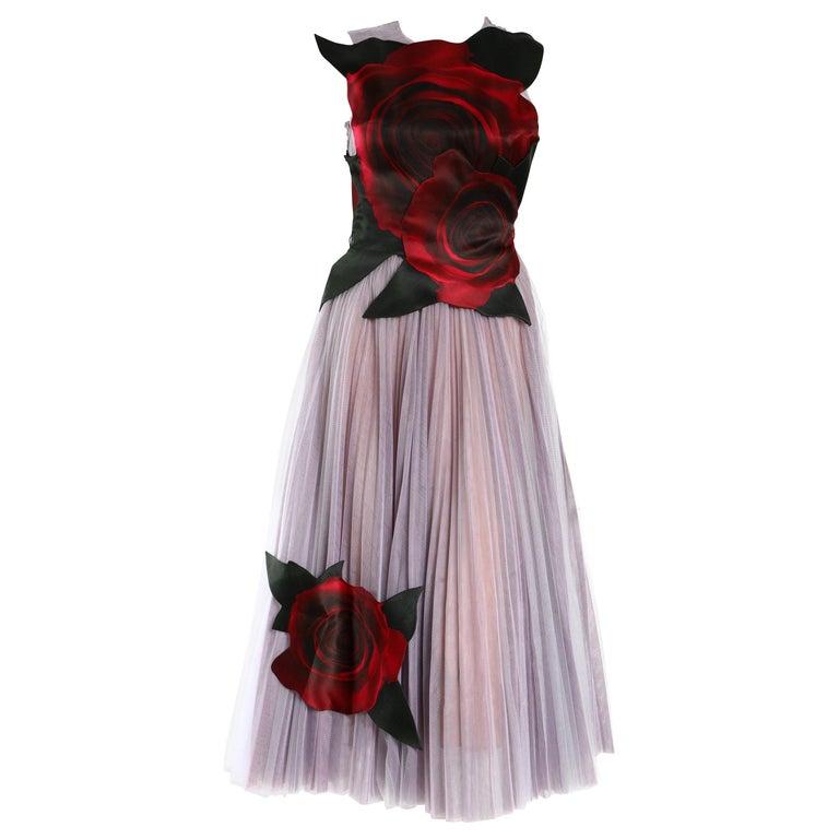 Christopher Kane  x Disney Rosettes Dress For Sale