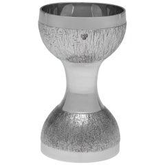Christopher Lawrence for C. J. Vander Sterling Silver Spirit Measure Jigger 1971