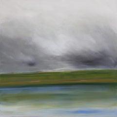 Summer, Painting, Acrylic on Canvas