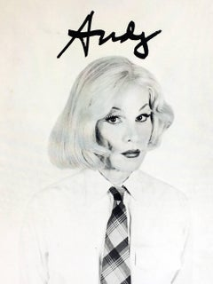 Andy Warhol In Drag (vintage Warhol announcement)