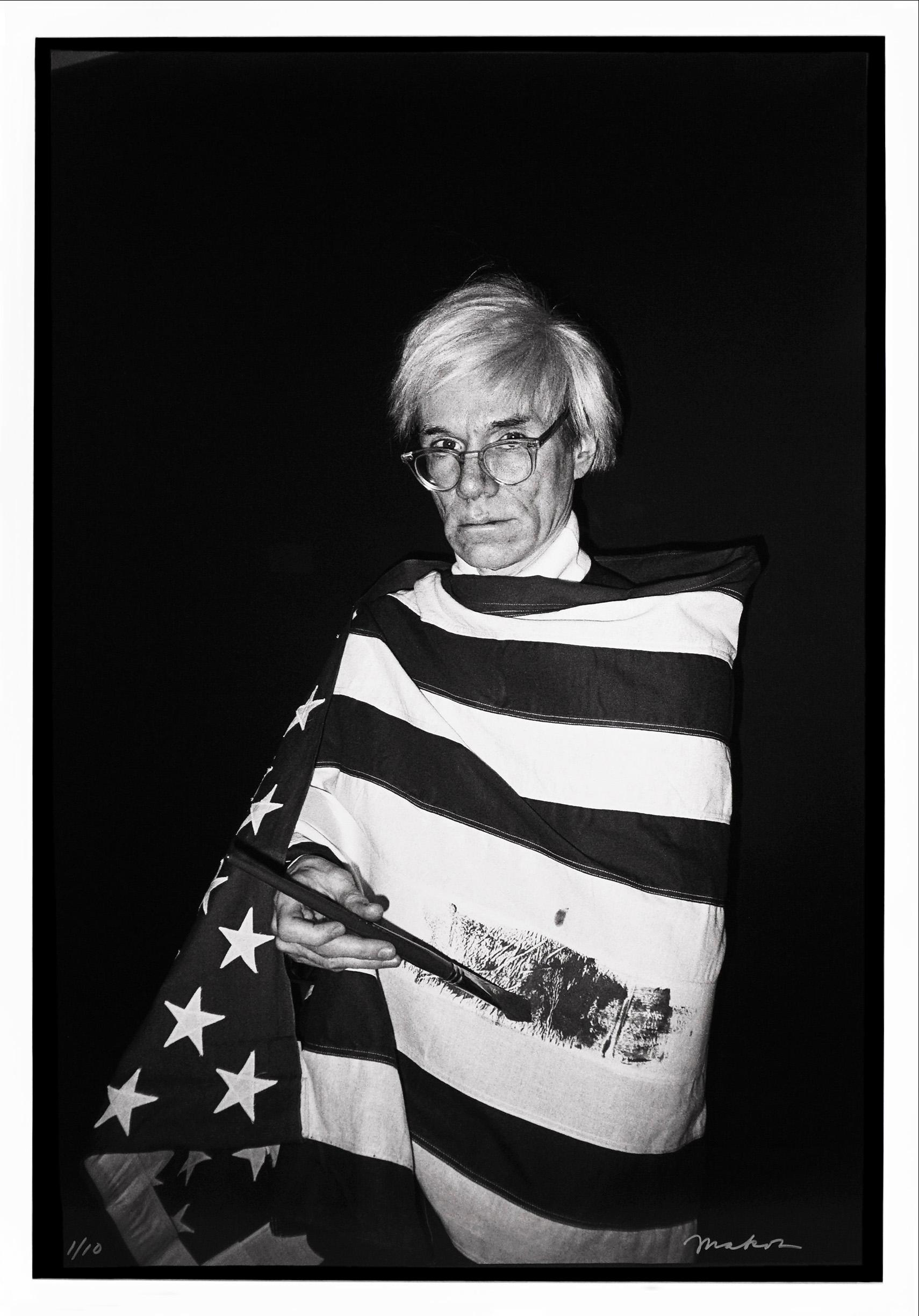 Andy Warhol American Flag, Archival Pigment Photographic Print, 2020
