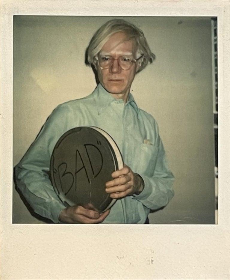 Andy Warhol - Filmmaker, Artist, Publisher, Philosopher - Photograph by Christopher Makos