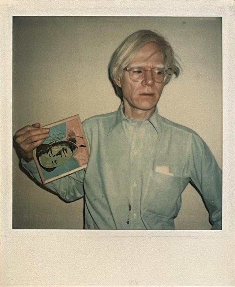 Andy Warhol - Filmmaker, Artist, Publisher, Philosopher - Pop Art Photograph by Christopher Makos