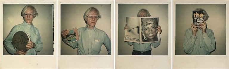 Christopher Makos Portrait Photograph - Andy Warhol - Filmmaker, Artist, Publisher, Philosopher