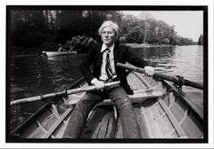 Archival Vintage 'Andy Warhol Row Boat', Photographic Print, 2020