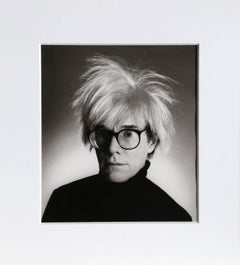 Andy Warhol with Glasses