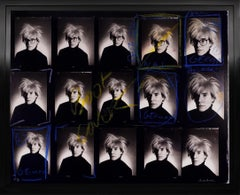 Christopher Makos, Andy Warhol Contact Sheet, 2020