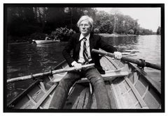 Christopher Makos, Andy Warhol Row Boat, 1982/2020