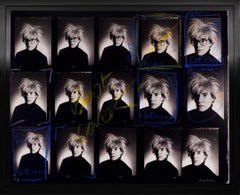 Vintage Andy Warhol Contact Sheet, Archival Photographic Print, 1982/2020