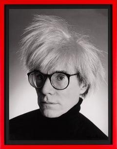 Christopher Makos, Archival Andy Warhol Portrait, 2020