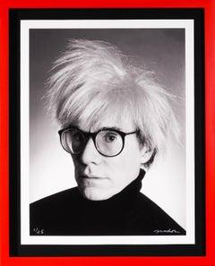 Christopher Makos, Archival Warhol Print, 2020