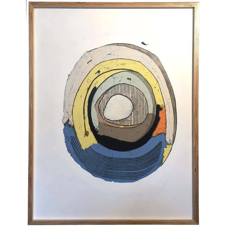 Christopher Myott Abstract Painting - Better Luck Tomorrow