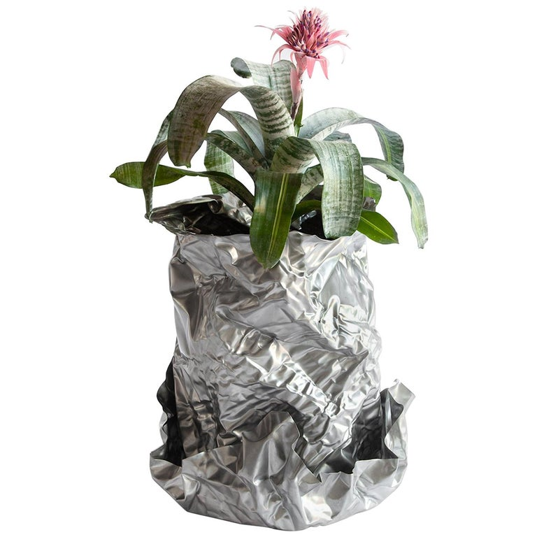 Christopher Prinz Wrinkled Outdoor Planter For Sale