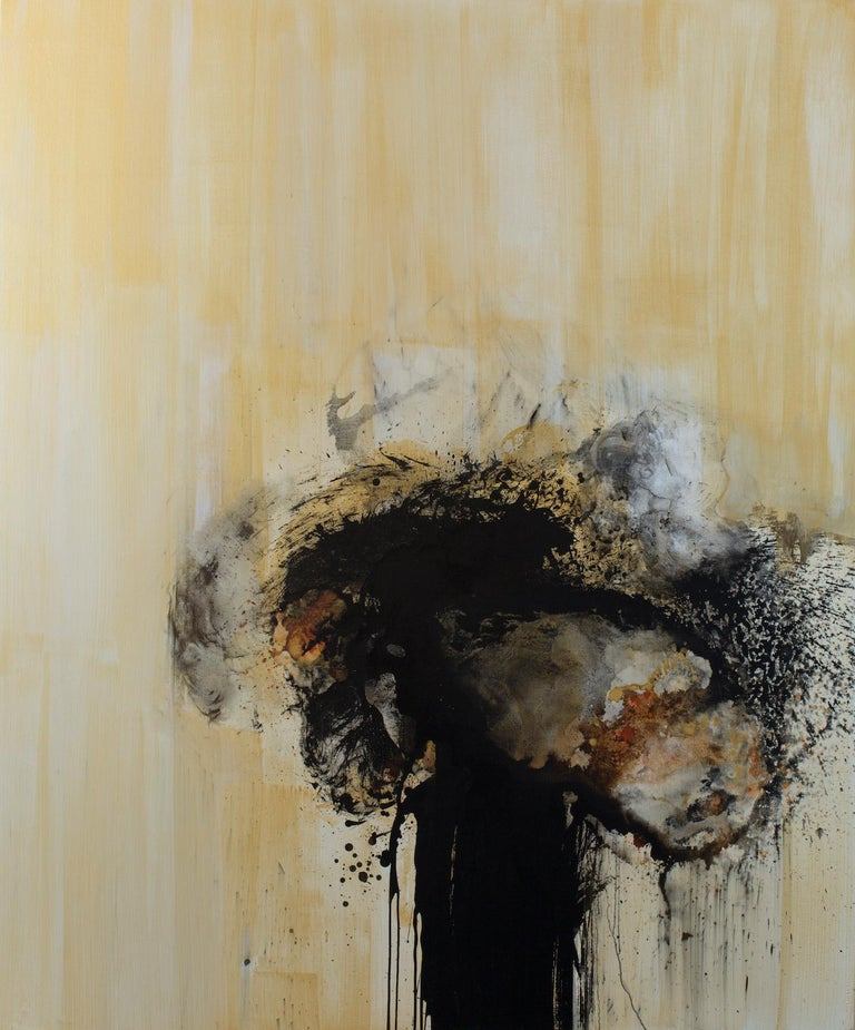Christopher Rico Abstract Painting - Dwarka