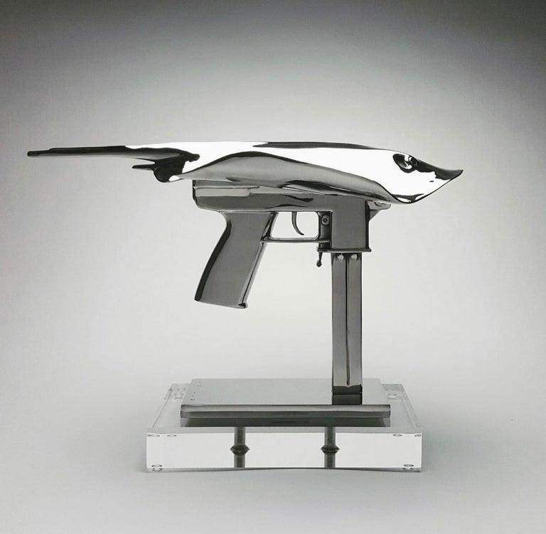 "Christopher Schulz Figurative Sculpture - ""Gatray"""
