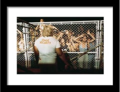 """Stones Security"", 1975, SIGNED Print, Limited Edition of 100, Framed"