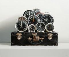 Ten Clocks — Black