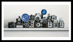 Fourteen Cameras, print, unframed