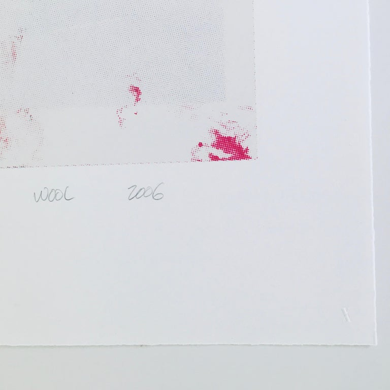 Christopher Wool 'Untitled' Abstract Expressionist Signed and Numbered Print For Sale 1