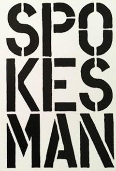 Spokesman  1989