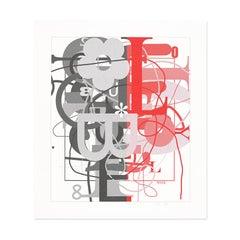 Untitled, Silkscreen, 2015, Abstract Art, American Artist, Contemporary Art