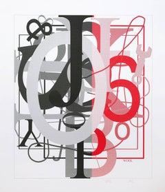 Untitled, Silkscreen, 2016, Abstract Art, American Artist, Contemporary Art