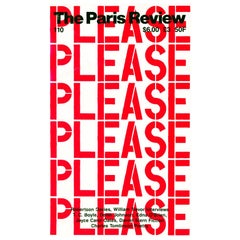Christopher Wool The Paris Review, 1989