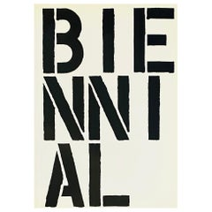 Christopher Wool The Whitney Biennial Exhibition 1989 'exhibition catalogue'