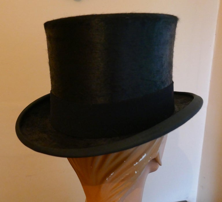 Christy's Of London Top Hat, Evening Wear,Horse Riding, Dressage or Hunting For Sale 1