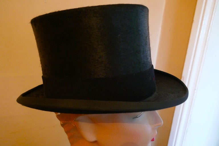 Christy's Of London Top Hat, Evening Wear,Horse Riding, Dressage or Hunting For Sale 2