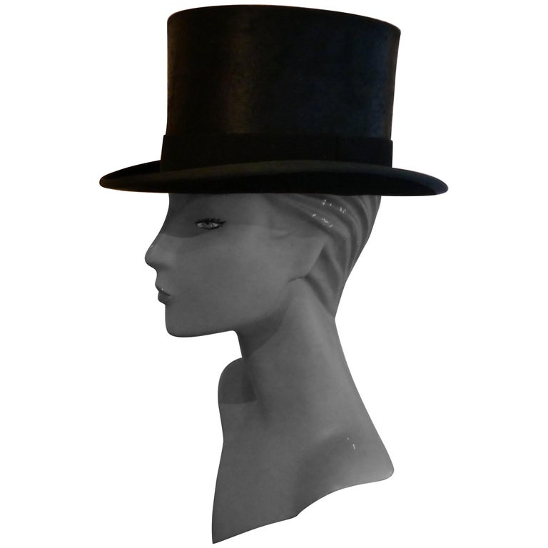 Christy's Of London Top Hat, Evening Wear,Horse Riding, Dressage or Hunting For Sale