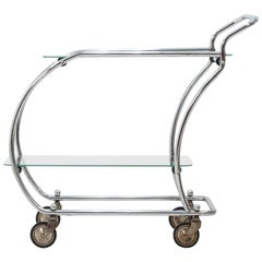 Chrome Art Deco Trolley