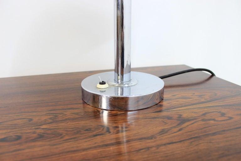 Chrome Bauhaus Table Lamp, 1930s For Sale 1