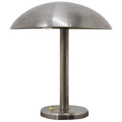 Chrome Bauhaus Table Lamp, 1930s