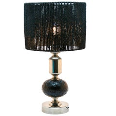 Chrome Bubble Table Lamp or Desk, Midcentury, 1960s