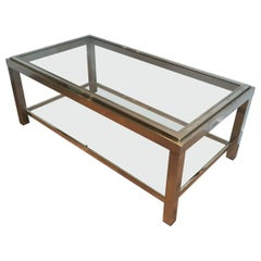 Chrome Coffee Table, Very Nice Quality, circa 1970