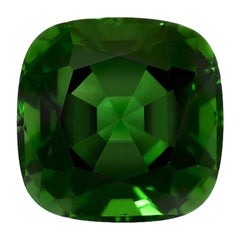 Chrome Green Tourmaline Ring Gem 3.30 Carat