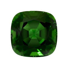 Chrome Green Tourmaline Ring Gem 3.30 Carat Loose Gemstone
