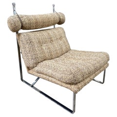 Chrome Lounge Chair Possibly Selig