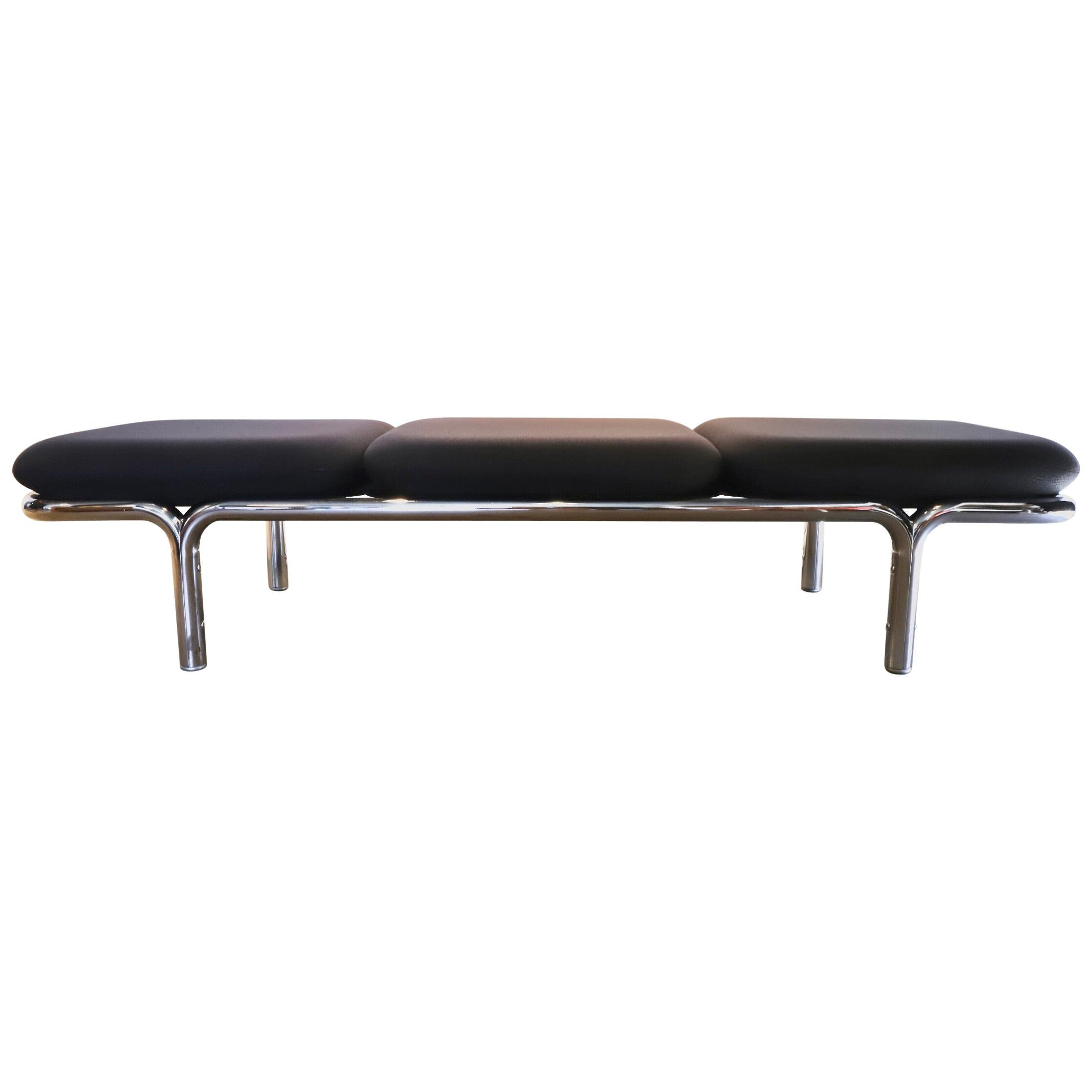 Chrome Museum Bench by Brian Kane for Metropolitan Furniture