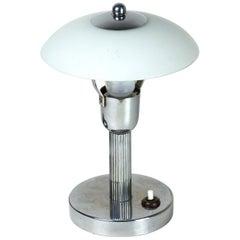 Chrome-Plated Lamp, circa 1920