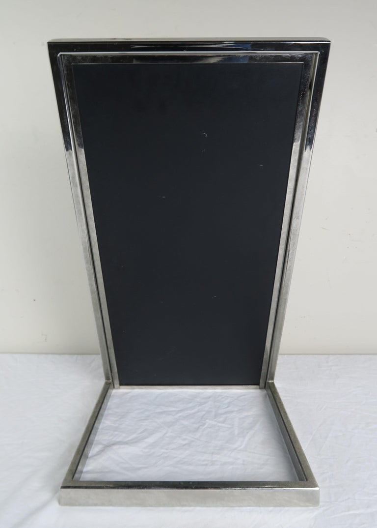 Mid-20th Century Chrome-Plated Vanity Mirror, circa 1960 For Sale
