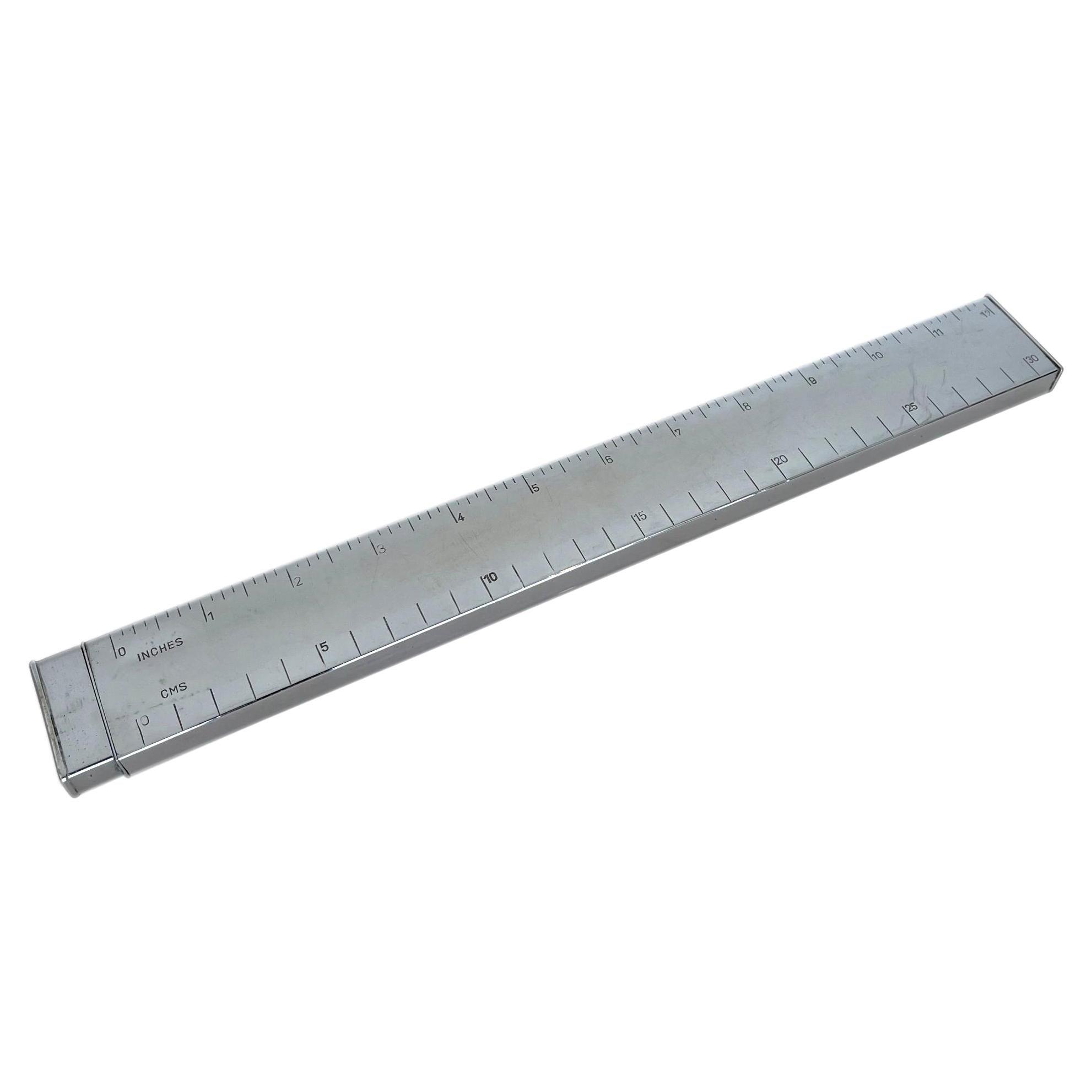 Chrome Ruler Lighter