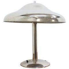 Chrome Table Bauhaus Lamp, 1930s